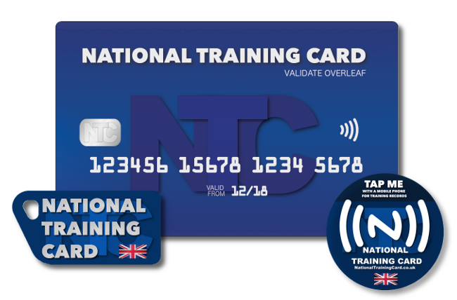 National Training Card